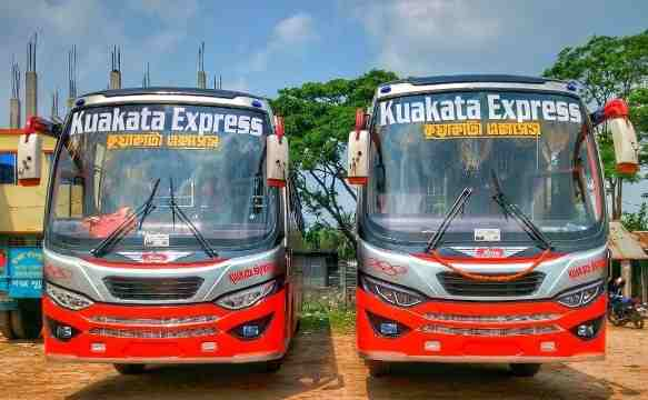 Kuakata Express | Online Ticket & Counter Number [2020]