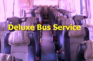 Deluxe Bus Service | Online Ticket & Counter Number [2020]