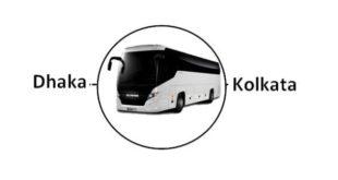Dhaka to Kolkata Bus